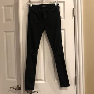Anercrombie and Fitch black jeans